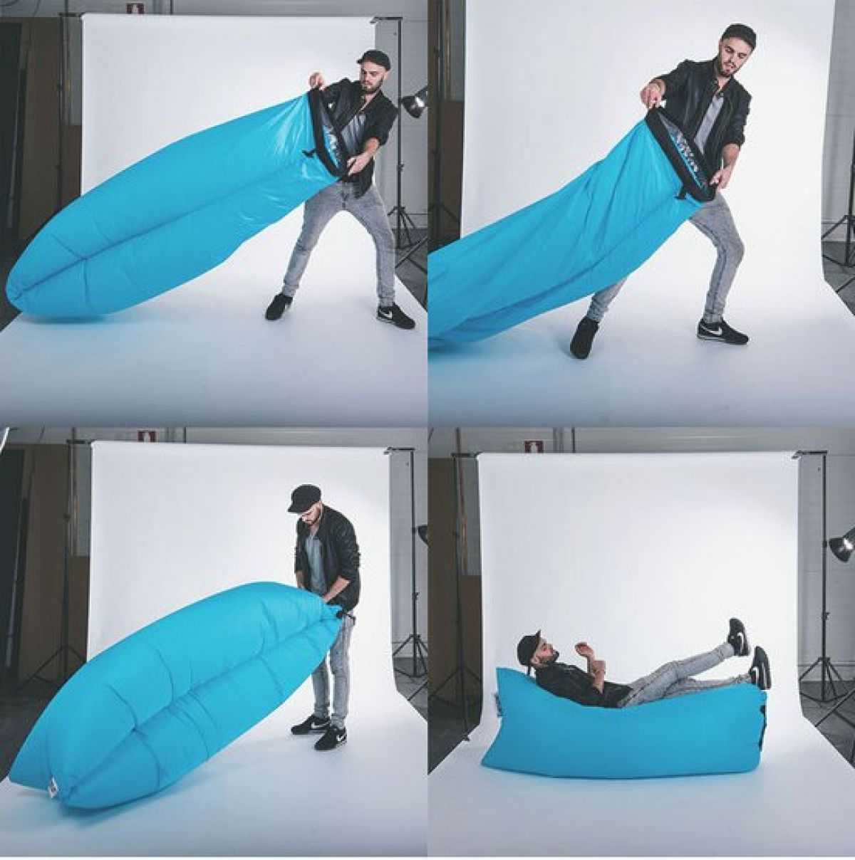 Inflatable camping chair - Fatboy Lamzac Fatboy