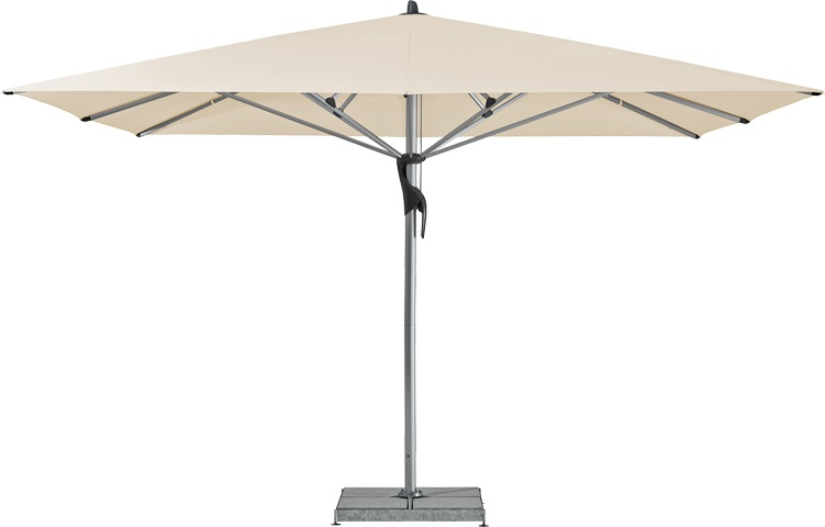 glatz fortello parasol vierkant 350 x 350 cm. Black Bedroom Furniture Sets. Home Design Ideas